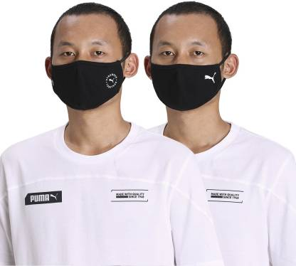 Puma Face Mask (Set of 2) IN 5409501 Washable Cloth Mask