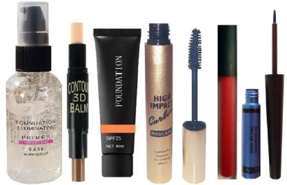Glowy Best Long Lasting Makeup Combo At