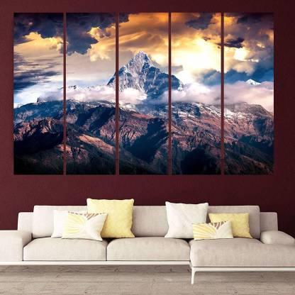 Rajo Beautiful Mountains View Vastu, Painting For Living Room Wall Vastu
