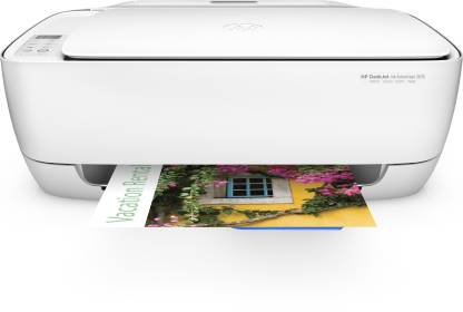 HP DeskJet Ink Advantage 3636 Multi-function WiFi Color Printer with Voice Activated Printing Google Assistant and Alexa