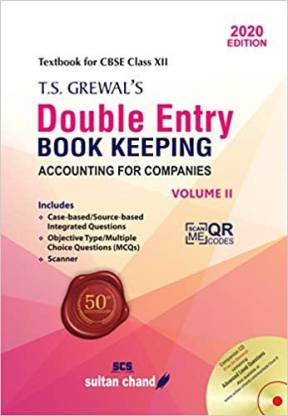 T.S. Grewal's Double Entry Book Keeping