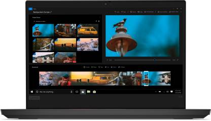 Lenovo ThinkPad E14 Core i3 10th Gen - (4 GB/256 GB SSD/Windows 10 Home) E14 Thin and Light Laptop