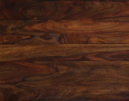 Home Edge Kerent Solid Wood 4 Seater Dining Set Finish Color   Teak