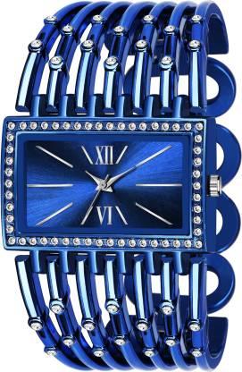 Zanques LADIES_625 BLUE BRACELET DIAMOND STUDDED QUARTZ LADIES_625 Analog Watch - For Women