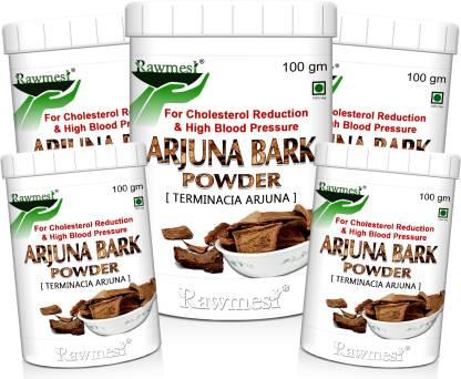 Rawmest 100% Natural Arjuna Powder (Terminalia arjuna ) Healthy Heart, NO Preservative added