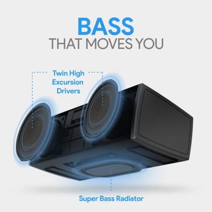 Amkette Trubeats Boomer FX 12 W Portable Bluetooth  Speaker