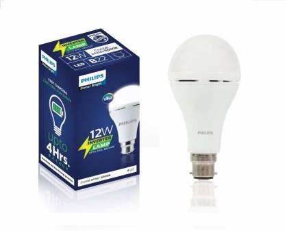 PHILIPS 12 W Standard B22 Inverter Bulb