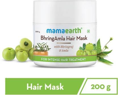 MamaEarth BhringAmla Hair Mask with Bhringraj & Amla for Intense Hair Treatment – 200 g
