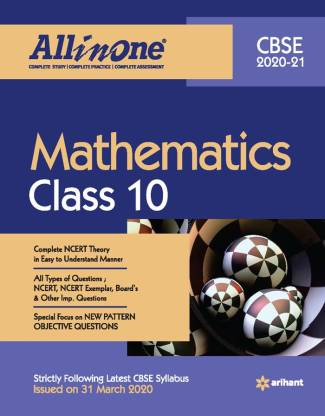 Cbse All in One Mathematics Class 10 for 2021 Exam