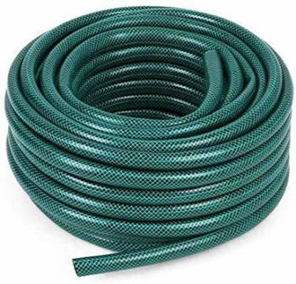 """cinagro 1"""" INCH Heavy Duty Braided Water Hose Pipe for Garden and Other  uses - Lenght : 10"""