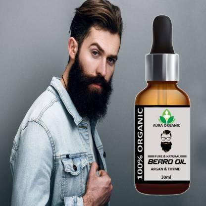 AURA ORGANIC 100% powerful beard growth Hair Oil