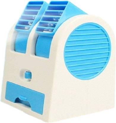 Bhairavi Sales Portable Mini Air Cooler Bladeless Fan USB Charging With Fragrance - Multicolored Minicoller-01 USB Air Cooler