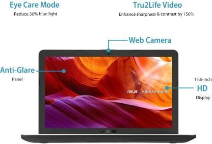 Asus Celeron Dual Core - (4 GB/1 TB HDD/Windows 10 Home) X543MA-GQ1015T Laptop