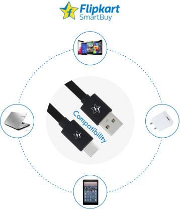 Flipkart SmartBuy ACRPB1M02 1 m USB Type C Cable