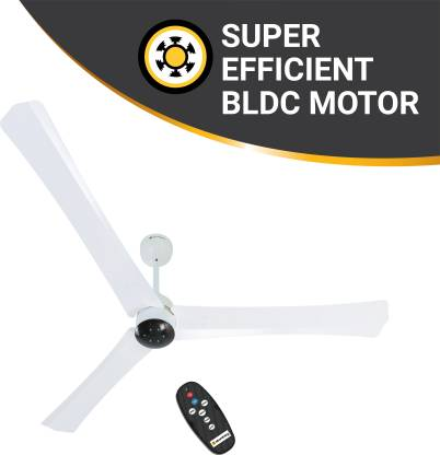 Atomberg Renesa+ 1400 mm BLDC Motor with Remote 3 Blade Ceiling Fan