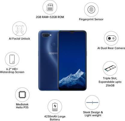 OPPO A11K (Deep Blue, 32 GB)