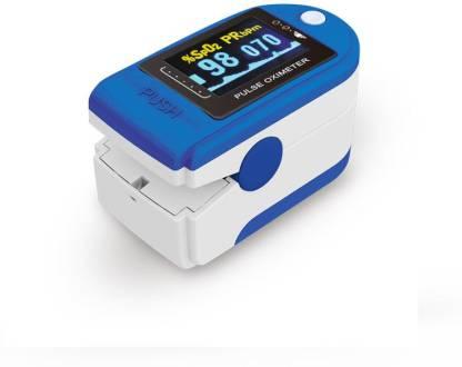 LANDWIND FS10C Finger Tip Digital Pulse Oximeter (White & Blue) Pulse Oximeter