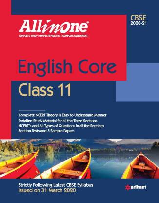 Cbse All in One English Class 11