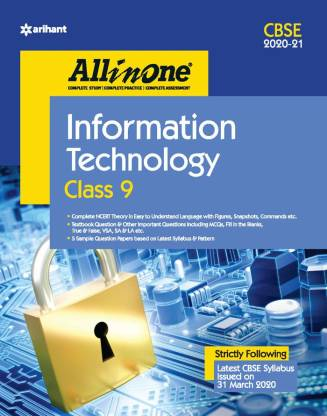 Cbse All in One Information Technology Class 9 for 2021 Exam