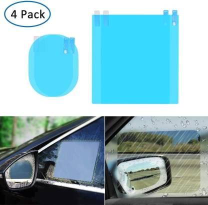 Carfrill 4 Pcs Car Rearview Mirror, Are Mirrors Waterproof