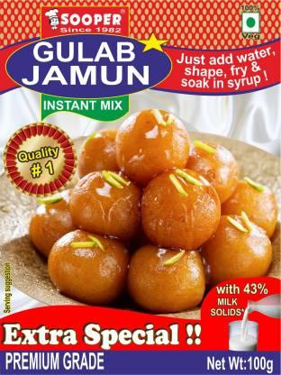 SOOPER GULAB JAMUN 100g X 5 PACKS 500 g