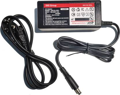 SSG Group Laptop Charger Adapter 65W 19.5V 3.34A Small Pin Laptop Adapter Charger 65 W Adapter