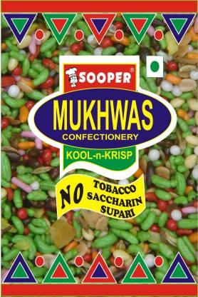 SOOPER MUKHWAS MEETHA PAAN 50 X 20 PACKS MEETA PAAN Mouth Freshener