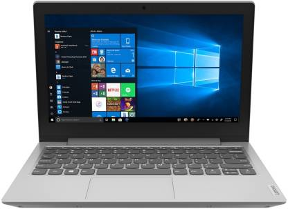 Lenovo Ideapad Slim APU Dual Core A4 - (4 GB/64 GB EMMC Storage/Windows 10 Home) 1-14AST-05 Thin and Light Laptop