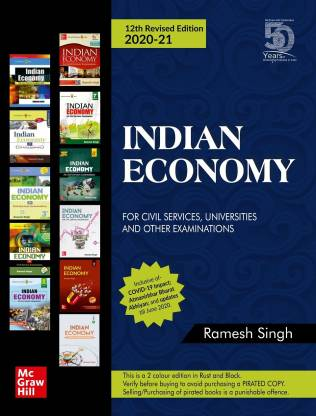 Indian Economy for Civil Services, Universities and Other Examinations