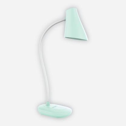 Ecolink by Philips 581868 3W EcoLink CAP Rechargeable LED Desk Light (Sea Green) Table Lamp
