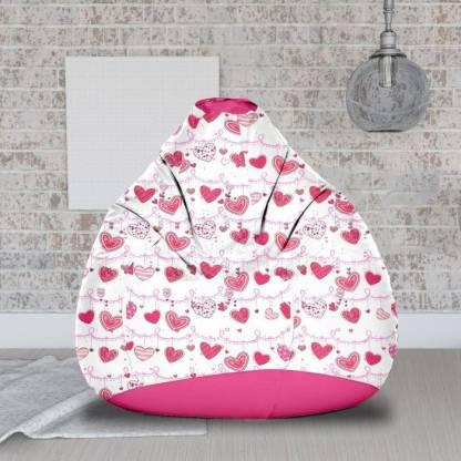 ORKA XXL Teardrop Bean Bag With Bean Filling