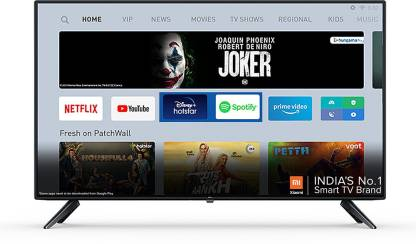 Mi 4A 100 cm (40 inch) Full HD LED Smart Android TV with With Google Data Saver