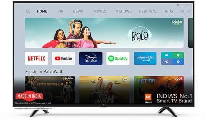 Mi 4X 108 cm (43 inch) Ultra HD (4K) LED Smart Android TV