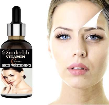 Sandarbh Vitamin C Face Serum with Vitamin A, Vitamin E & Hyaluronic Acid