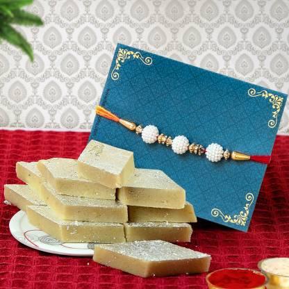 Premium Rakhi Sweets Gift Hamper flipkart