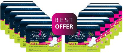 StepUp XXL Sanitary Pad (Pack of 84)