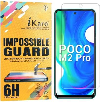 iKare Impossible Screen Guard for Poco M2 Pro