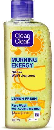 Clean & Clear Morning Energy Lemon Fresh Face Wash