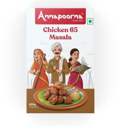 Annapoorna Chicken 65 Masala 100g Carton