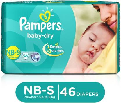 Pampers Taped Diapers - S