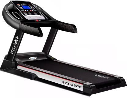 Stunner Fitness STX-250S 2.0HP (4.0HP Peak) Motorized  Auto Lubrication  MP3 Music  Training Programs for Cardio Workout Treadmill