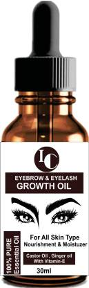 INDO CHALLENGE Eyebrow & Eyelashes Growth Oil-Enriched with Natural Ingredients Growth and Care Oil 30 ml