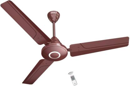 """HAVELLS EFFICIENCIA NEO 48"""" Brown 5 Star 26 Watts 1200 mm, With Remote 1200 mm 3 Blade Ceiling Fan"""