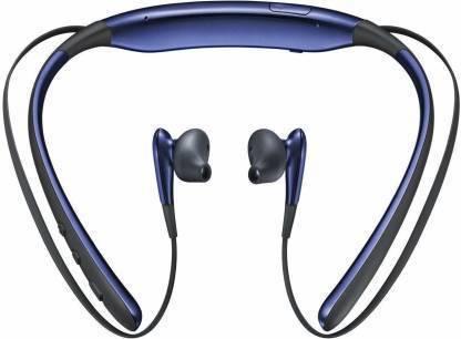 Datalact Wireless Level u neckband Bluetooth Headset(Blue, In the Ear)