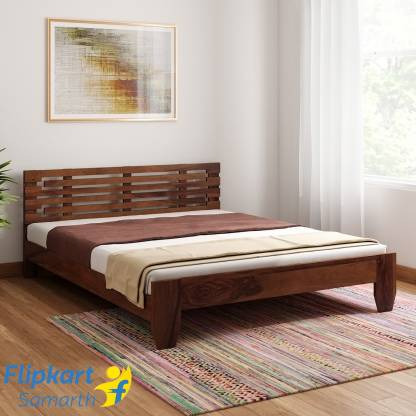 Vintej Home Moroni Sheesham Solid Wood Queen Bed