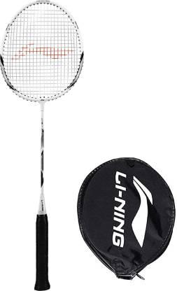 LI-NING XP-90-IV Black, White, Silver Strung Badminton Racquet
