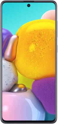 SAMSUNG Galaxy A71 (Haze Crush Silver, 128 GB)