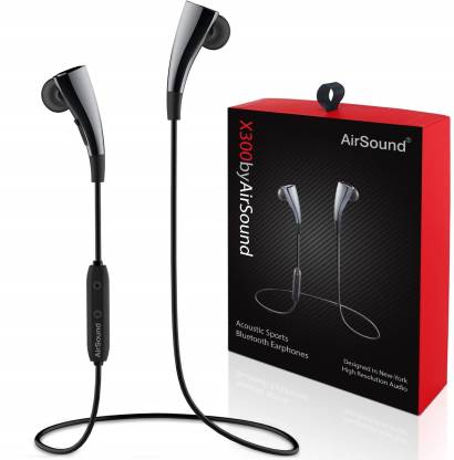 AirSound X300 Magnetic Design, HD Stereo Sound, Sports Wireless Bluetooth Headset