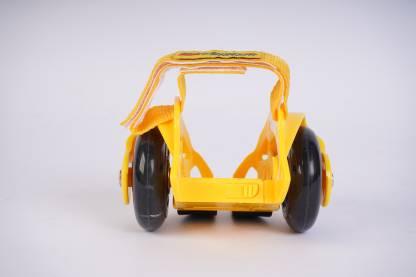 Ferrari Flashing Wheels - Yellow