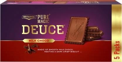BRITANNIA Pure Magic Deuce Cream Cracker Biscuit